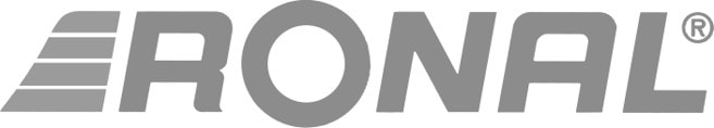 Ronal logo B/N