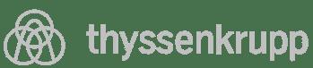thyssen logo B/N